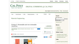 Energy 5: Renewable and Non-Renewable Resources