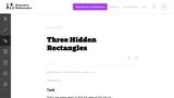 Three Hidden Rectangles