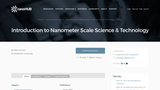 Introduction to Nanometer Scale Science and Technology