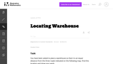 Locating Warehouse