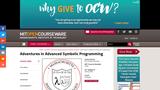Adventures in Advanced Symbolic Programming, Spring 2009