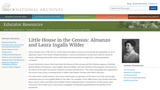 Little House in the Census: Almanzo and Laura Ingalls Wilder