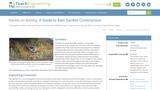 A Guide to Rain Garden Construction