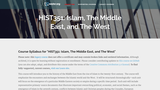 Islam, The Middle East, and The West