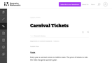 Carnival Tickets