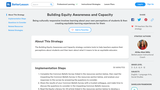 Building Equity Awareness and Capacity