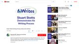 Stuart Stotts Writing Process (Wisconsin Writes)
