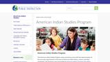 DPI American Indian Studies Program