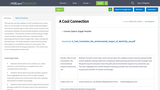 A Cool Connection: Using a short story or a one act play to  explore the environmental impact of electricity use