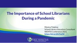 The Importance of School Librarians During a Pandemic