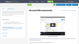 Microsoft Office Assessments