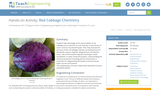Red Cabbage Chemistry