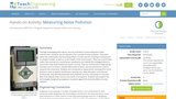 Measuring Noise Pollution