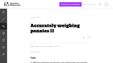 Accurately Weighing Pennies II