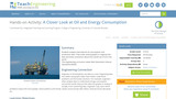 A Closer Look at Oil and Energy Consumption