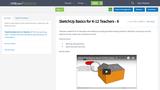 SketchUp Basics for K-12 Teachers - 6