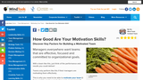 How Good Are Your Motivation Skills?