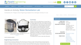 Water Remediation Lab