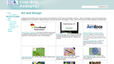 Fine Arts Pedagogy Website