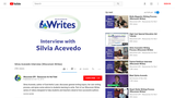Silvia Acevedo Interview (Wisconsin Writes)