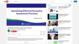 Identifying Effective Formative Assessment Practices Video and Presentation