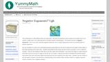 Negative Exponents? Ugh