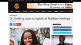 Dr. Bettina Love to Speak at Madison College