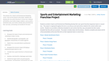 Sports and Entertainment Marketing-Franchise Project