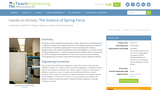 The Science of Spring Force