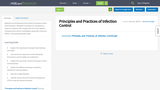 Principles and Practices of Infection Control