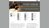 Foreign Language Teaching Methods