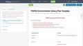 TENFEE Environmental Literacy Plan Template