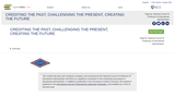 Crediting the Past, Challenging the Present, Creating the Future