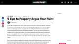5 Tips to Properly Argue Your Point