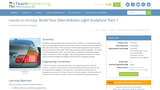 Build Your Own Arduino Light Sculpture! Part 1