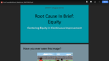 Root Cause in Brief: Equity_Slide&Script