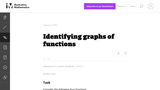 Identifying Graphs of Functions