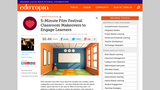 5-Minute Film Festival: Classroom Makeovers to Engage Learners
