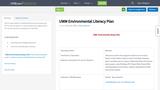 UWM Environmental Literacy Plan
