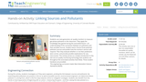 Linking Sources and Pollutants