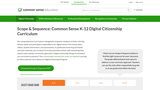 Digital Literacy and Citizenship Curriculum for Grades 6-8
