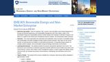 Renewable Energy and Non-Market Enterprise