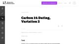 Carbon 14 Dating, Variation 2