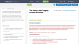 The Sandy Lake Tragedy Student Activities