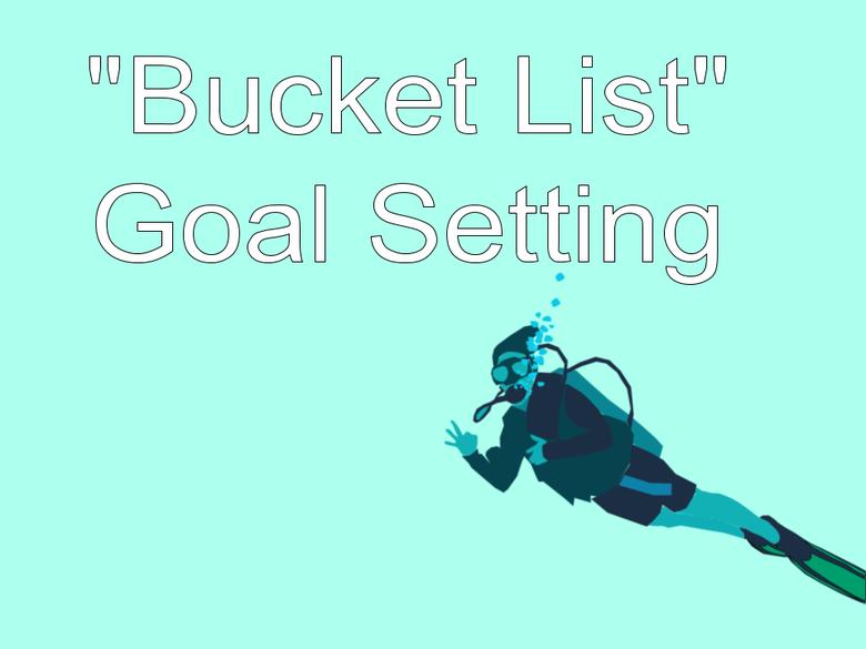 """Bucket List"" Goal Setting in Google Docs"