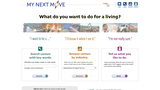 """""""My Next Move"""" Interactive Career Research Tool"""
