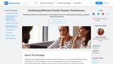 Facilitating Effective Family-Teacher Conferences
