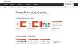 PowerPoint video training