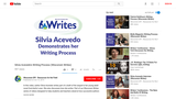 Silvia Acevedo's Writing Process (Wisconsin Writes)