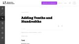 Adding Tenths and Hundredths